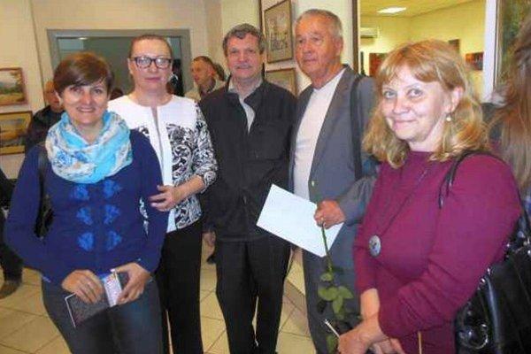 Irina Slaninková (zľava), Inge Sekey, Štefan Packa, Matej Antol, Valéria Szépeová.