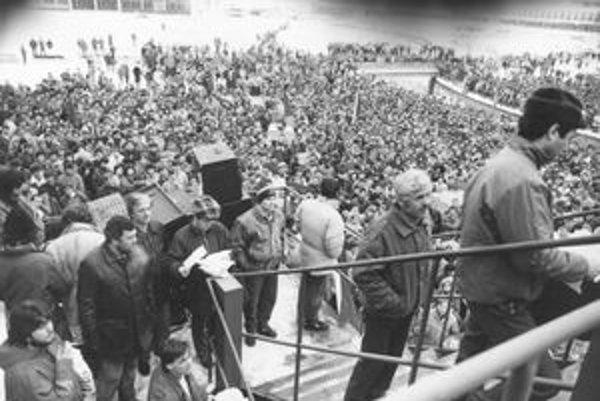 Generálny štrajk v Považskej Bystrici