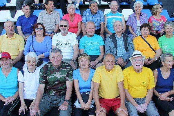 Športuchtiví liptovskí seniori.