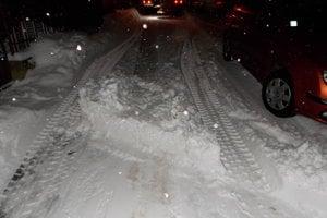 Prekážky pre odhŕňaní snehu.