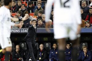 Marcelino Garcia, tréner Valencie, na ilustračnej fotografii.