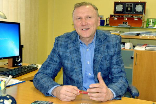 Šéf vodární Stanislav Hreha
