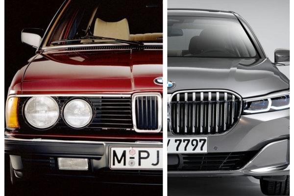 BMW radu 7 - 1. generácia vs. 6. generácia