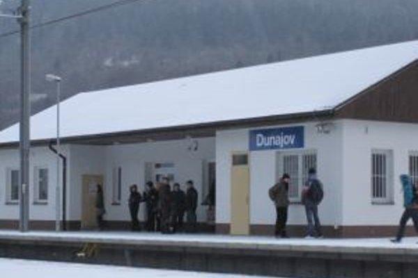 V Dunajove sa zabezpečuje predaj lístkov fakultatívnym spôsobom. Stanica je otvorená v zmysle vývesky.