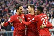 Futbalisti Bayernu Mníchov.