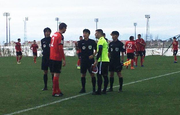V prvom zápase nastúpili Seredčania proti ruskému FK Chimki.