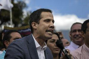 Vodca venezuelskej opozície Juan Guaidó.