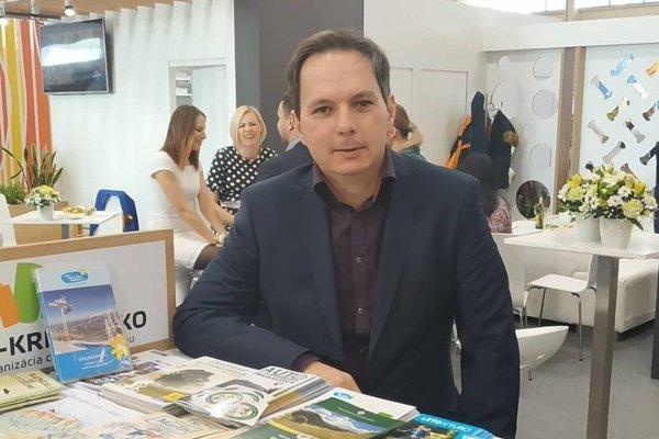 Výkonný riaditeľ Ing. Dalibor Steindl zastupoval OO CR Turiec – Kremnicko na veľtrhu.