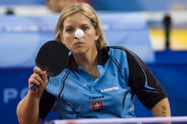Predchádzajúci rok bol pre stolnú tenistku Alenu Kánovú veľmi rýchly.