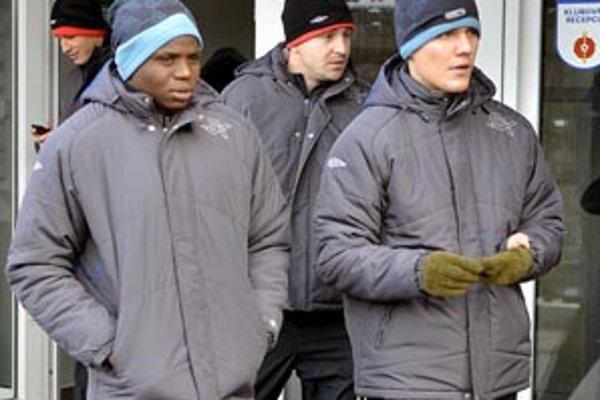 Kenský útočník Patrick Oboya pred nástupom na jarnú prípravu.