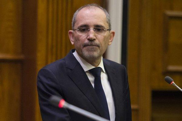 Jordánsky minister zahraničných vecí Ajman Safadí.