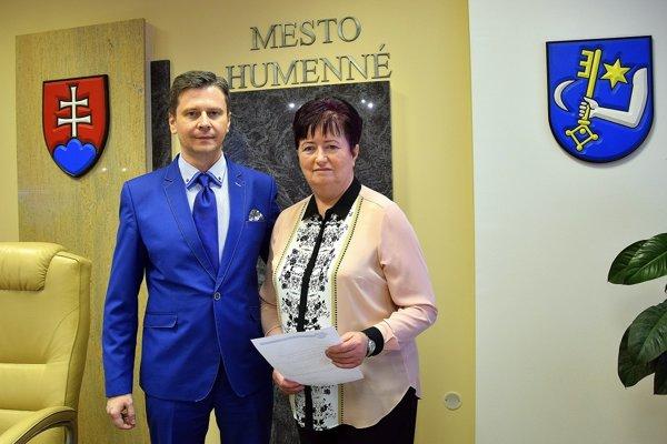 Primátor Miloš Meričko vymenoval za svoju zástupkyňu Máriu Cehelskú.