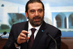 Novozvolený libanonský premiér Saad Harírí.