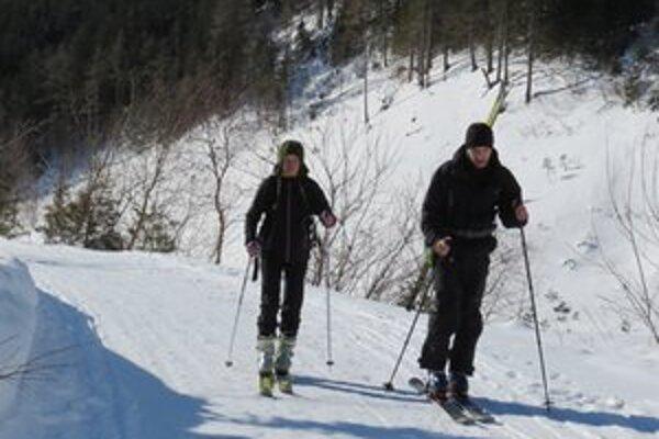 Žiarska dolina je raj skiaplpinistov, zákaz pre ňu neplatí, rovnako ako pre Jaloveckú dolinu.