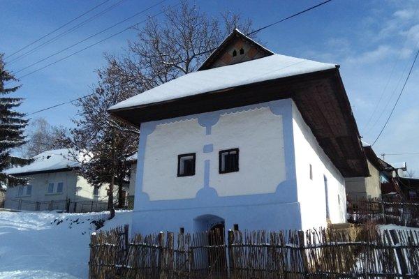 Historický dom v Sucháni.
