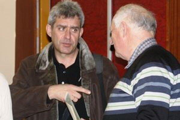 Úspešní liptovskí filmári Ján Kuska (vľavo) a Ľubor Patsch.