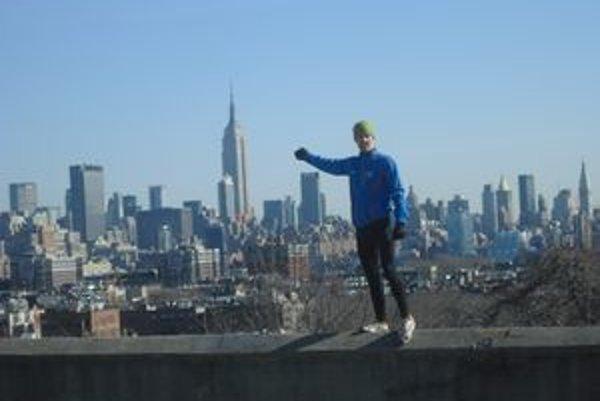 Na 86-poschodový newyorský mrakodrap Empire State Building vybehol Tomáš Čelko vo februári za necelých dvanásť minút.