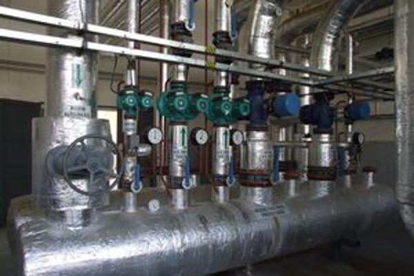 Jedna z troch plynových kotolní, ktoré sa v rámci rekonštrukcie zrušia.