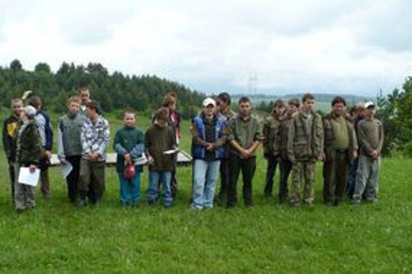 Členovia Krúžkov mladých priateľov poľovníctva budú mať nielen okresné kolo súťaže, ale aj celoslovenské, ktoré bude v Račkovej doline.