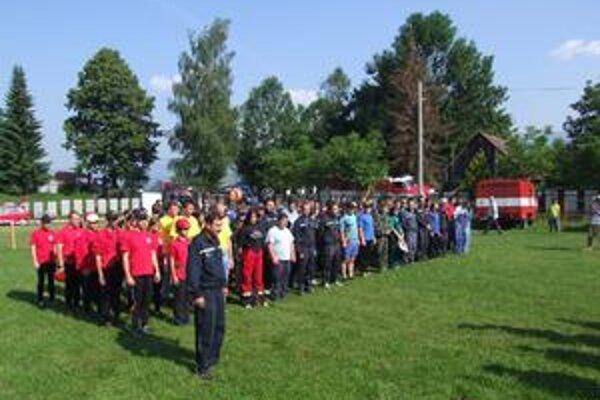Druhé kolo deviateho ročníka Hasičskej ligy sa konalo v Trstenom.