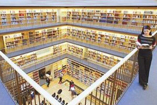 V novej knižnici sa vytvorí priestor pre 310-tisíc kníh, archívne priestory budú disponovať kapacitou 470-tisíc kníh.