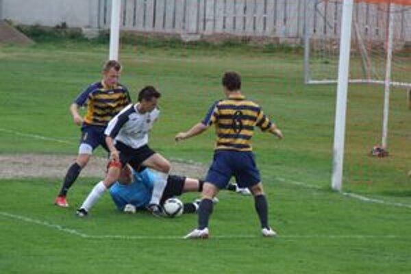 Roland Števko dnes prispel gólom k víťazstvu ružomberskej rezervy s Michalovcami.