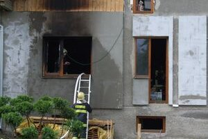 Požiarom bola zasiahnutá plocha približne 120 štvorcových metrov.