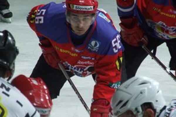 Martin Kriška v maximálnom sústredení v zápase so Skalicou.