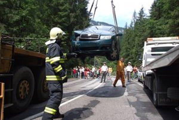 Podobná nehoda, ale bez tragických následkov, sa stala aj minulý rok v Jasnej.