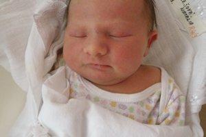 Natália Pálešová (3460 g a 49 cm) sa narodila 6. januára Tatiane a Marekovi z Košece. Teší sa aj sestra Nina.