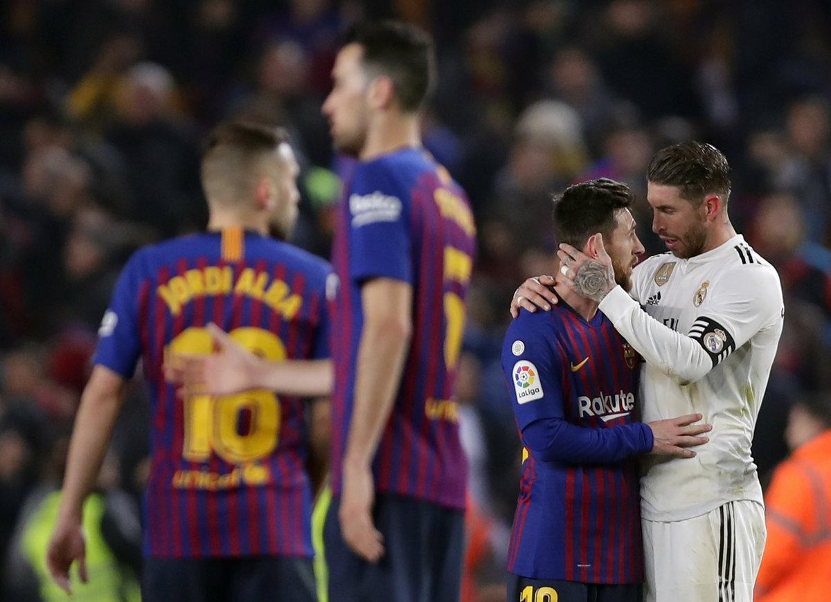 7c870950e4 FC Barcelona - Real Madrid 1 1 v Copa del Rey 2018 2019 - Šport SME