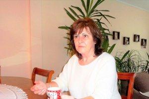 Zlatica Holubová, predsedníčka PD Gader Blatnica.