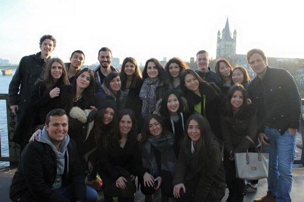 Na holandskej Fontys university v meste Eindhoven erasmácki študenti študovali v angličtine spolu s domácimi.