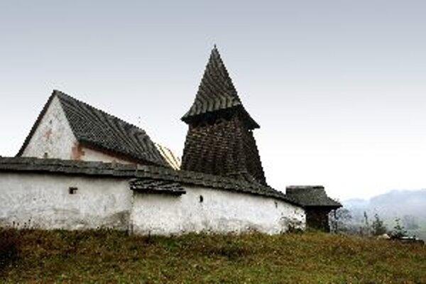 Kostolík v Čeríne