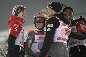 Víťazný tím Rakúska.
