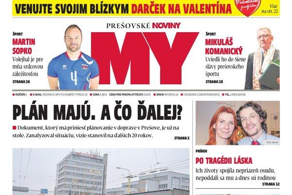 Nové Prešovské noviny sú v predaji od 12. februára.