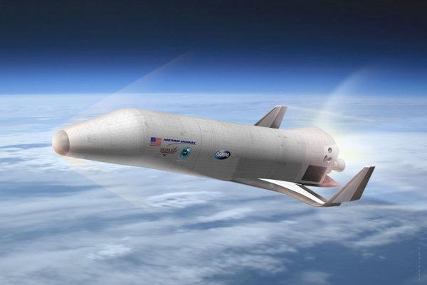 Ako by mohol vyzerať raketoplán XS-1.