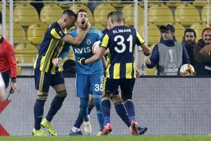 Futbalisti Fenerbahce Istanbul.