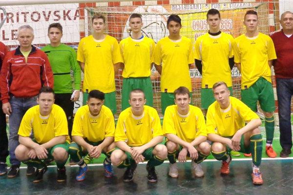 Výber ObFZ Levice si na turnaji vybojoval tretie miesto.
