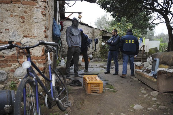 K zásahu došlo v Kalábrii pri meste Rosarno.