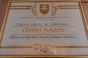 Najväčšou pamiatkou na Ljubimova v Medzilaborciach zostala Základná umelecká škola (ZUŠ) Alexandra A. Ljubimova.