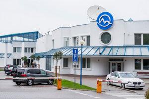 Budova televízie Markíza.