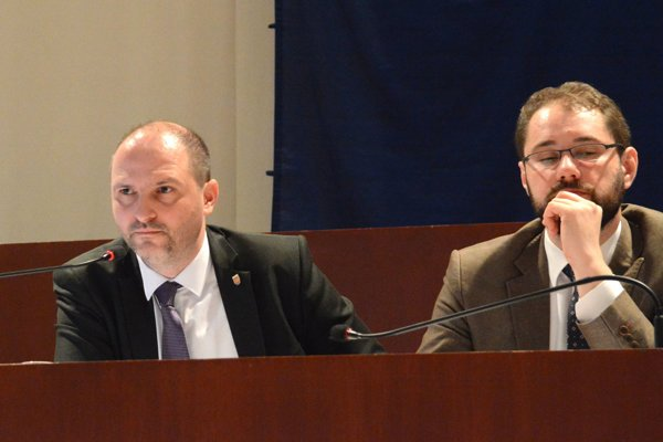 Jaroslav Polaček (vľavo)