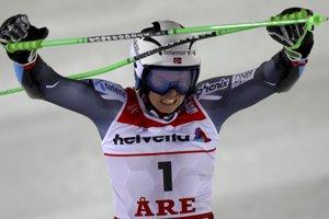 Nórsky lyžiar Henrik Kristoffersen získal titul majstra sveta v obrovskom slalome a zároveň svoju vôbec prvú medailu zo svetových šampionátov na MS v alpskom lyžovaní vo švédskom Are 15. februára 2019.