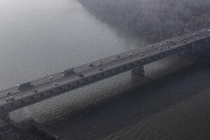 Dopravná situácia - Prístavný most