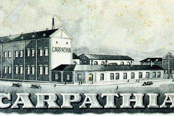 Závod Karpatia vlastnili židia, ktorí mali prezidentskú výnimku.