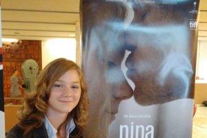 Bibiana pri premiére filmu Nina.