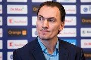 Na snímke generálny manažér slovenskej hokejovej reprezentácie a člen výkonného výboru (VV) Slovenského zväzu ľadového hokeja (SZĽH) Miroslav Šatan počas brífingu po zasadnutí VV SZĽH v Bratislave 23. januára 2019.