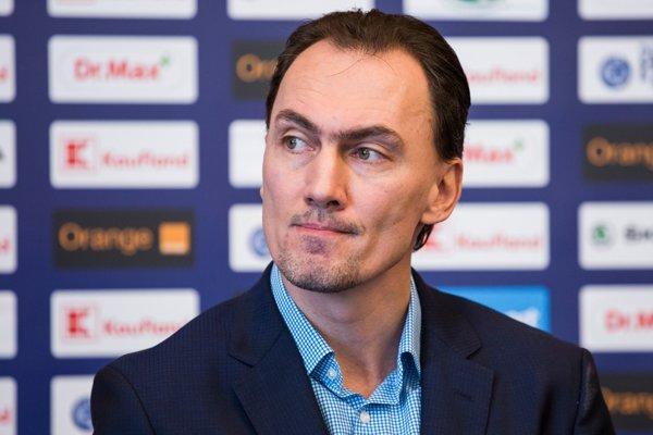 Na snímke generálny manažér slovenskej hokejovej reprezentácie a člen výkonného výboru (VV) Slovenského zväzu ľadového hokeja (SZĽH) Miroslav Šatan.
