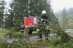 Pre silný vietor zasahovali hasiči v Prešovskom aj Košickom kraji.